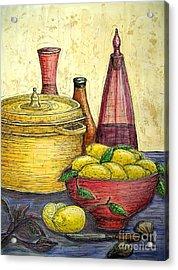 Sustenance Acrylic Print by Kim Jones