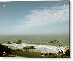 Sutro Baths San Francisco Acrylic Print by Linda Woods