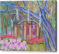 Suzana Acrylic Print by Belinda Lawson