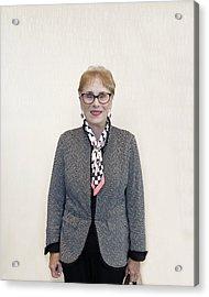 Acrylic Print featuring the digital art Suzanne Gaspard by Ellen Barron O'Reilly