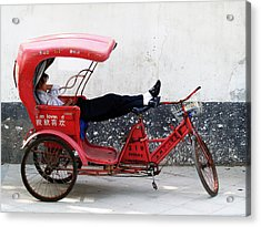 Suzhou 004 Acrylic Print by Per Lidvall