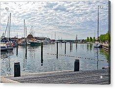 Svendborg Harbour Acrylic Print