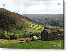 Swaledale  Yorkshire Dales Acrylic Print