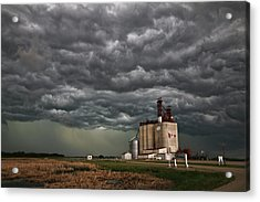 Swallowed By The Sky Acrylic Print
