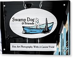 Swamp Dog And Friends Acrylic Print