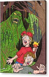Swamp Monster Acrylic Print by Anthony Snyder