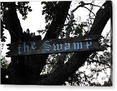 Swamp Oak Acrylic Print by The Stone Age