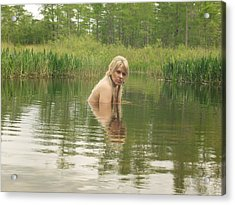 Swamp Witch Acrylic Print