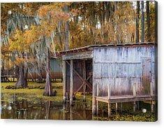 Swampy Dock  Acrylic Print