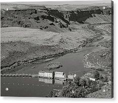 Swan Falls Dam Acrylic Print