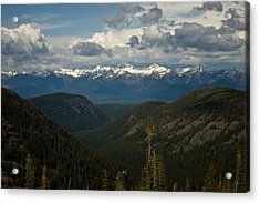 Swan Mountain Range Acrylic Print