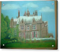 Swarcliffe Hall Acrylic Print by Mark Dermody