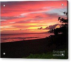 Sweeping Sunset Ko'olina Ohahu Hawaii Acrylic Print
