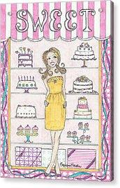 Sweet Birthday Acrylic Print