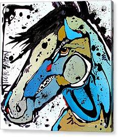 Sweet Blue Acrylic Print