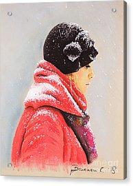 Sweet Caroline Acrylic Print by Katharina Filus