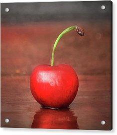 Sweet Cherry Acrylic Print by Lori Deiter