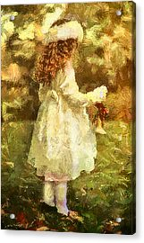 Sweet Child Of Innocent Joy Acrylic Print