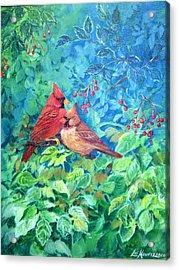 Sweet Contentment Acrylic Print by Lois Mountz
