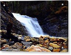 Sweet Creek Falls , Wa Acrylic Print