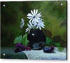 Sweet Daisies Acrylic Print