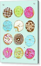 Sweet Donuts Acrylic Print by Evgenia Chuvardina