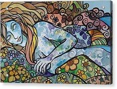 Sweet Dreams Acrylic Print by Claudia Cole Meek
