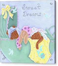 Sweet Dreams Acrylic Print by Tracy Campbell