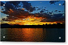 Acrylic Print featuring the photograph Sweet End Of Day by Eric Dee
