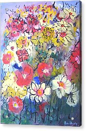 Acrylic Print featuring the painting Sweet Fragrance by Gary Smith