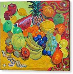 Sweet Fruits Acrylic Print by Vitali Komarov
