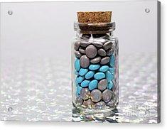 Sweet Happy Pills Acrylic Print by Afrodita Ellerman