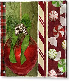 Sweet Holiday II Acrylic Print by Mindy Sommers