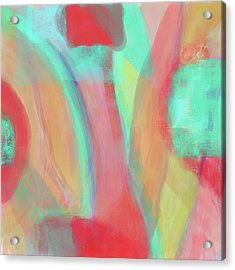 Acrylic Print featuring the digital art Sweet Little Abstract by Susan Stone