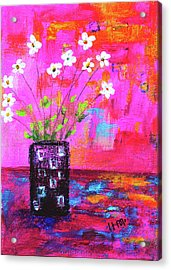 Sweet Little Flower Vase Acrylic Print