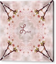 Sweet Love Acrylic Print