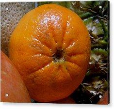 Sweet Mandarine Acrylic Print by Fanny Diaz