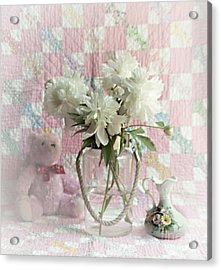 Sweet Memories Of Four Generations Acrylic Print