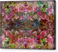Sweet Pink Dreams Acrylic Print by Dorothy Berry-Lound