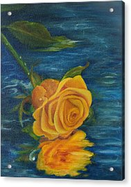 Acrylic Print featuring the painting Sweet Remembrance Reflected by Susan Dehlinger