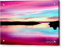 Sweet Sunset Acrylic Print