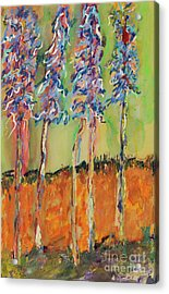 Sweetheart Hill Acrylic Print by Pat Saunders-White