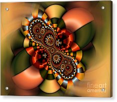 Acrylic Print featuring the digital art Sweets by Karin Kuhlmann