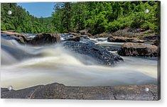 Sweetwater Creek Long Exposure Acrylic Print