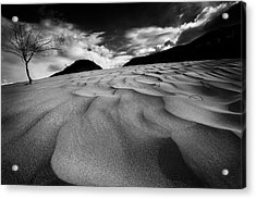 Acrylic Print featuring the photograph Swerves And Curves In Jasper by Dan Jurak