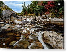 Swift River Autumn Nh Acrylic Print