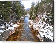 Swift River, New Hampshire  Acrylic Print by Catherine Reusch Daley