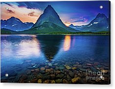 Swiftcurrent Twilight Acrylic Print