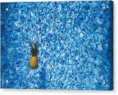 Swimming Pool Days Acrylic Print
