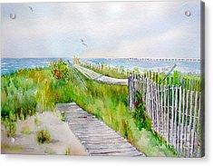 Swing Breeze Acrylic Print by Amy Kirkpatrick